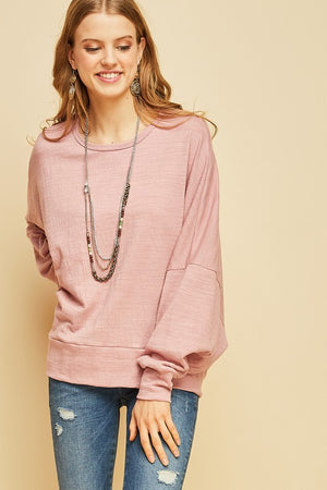Dolman Open Back Top
