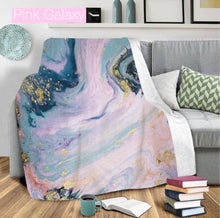 Load image into Gallery viewer, Ultra Plush Geode Blanket-Beauty Stash-DOORBUSTER, NOV2020, November 2020, November2020-Pink Galaxy-The Twisted Chandelier