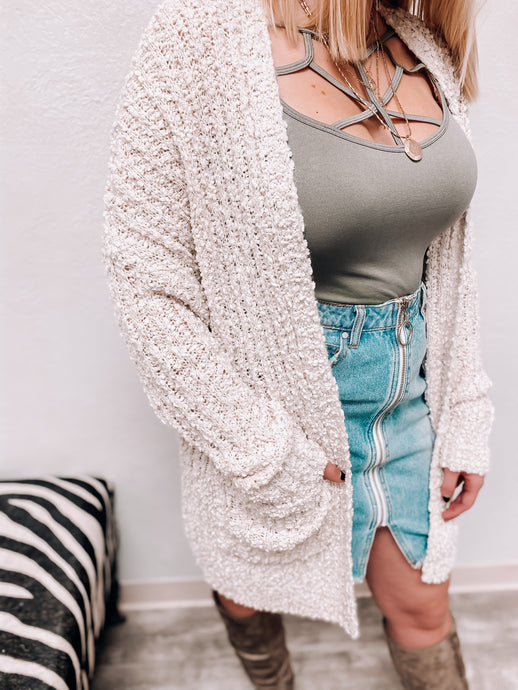 NEW Popcorn Cardigan (Cream)-Sweaterland-november2020-The Twisted Chandelier
