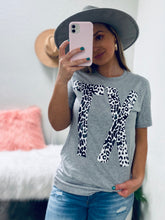 Load image into Gallery viewer, Leopard Texas Graphic Tee-The Twisted Chandelier--The Twisted Chandelier
