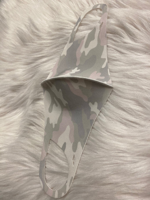 pink grey camouflage: anti-bacterial mask-The Twisted Chandelier--The Twisted Chandelier