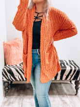 Load image into Gallery viewer, NEW Popcorn Cardigan (Pumpkin)-The Twisted Chandelier--The Twisted Chandelier