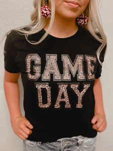 GAME DAY LEOPARD TEE-The Twisted Chandelier--The Twisted Chandelier