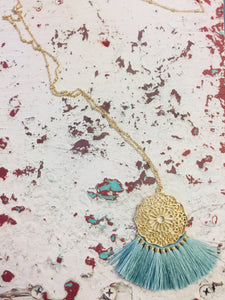 Ciara Tassel Necklace-The Twisted Chandelier--The Twisted Chandelier