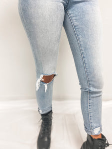 "VERVET ""EMERSON"" HIGH RISE JEANS-The Twisted Chandelier--The Twisted Chandelier"