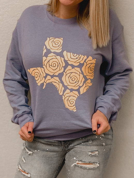 Yellow Rose Texas Sweatshirt-TOPS-Oliver & Otis-OCT2020-The Twisted Chandelier