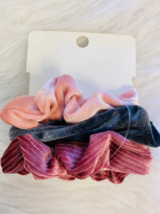 Pack Of 3 Scrunchie Set-The Twisted Chandelier--The Twisted Chandelier