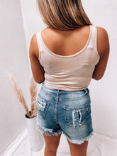 Load image into Gallery viewer, ELLIE CROPPED TANK -BEIGE-TOPS-Style melody-april2021, basic tank, crop top, cropped tank, cute top, spring top, summer top-The Twisted Chandelier