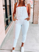 Load image into Gallery viewer, Teenage Dreamin Overalls-Kan Can-JUL2020, kancan, KCU2AA9737240, overalls, white overalls-The Twisted Chandelier