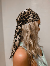 Load image into Gallery viewer, Leopard Ponytail Scarf
