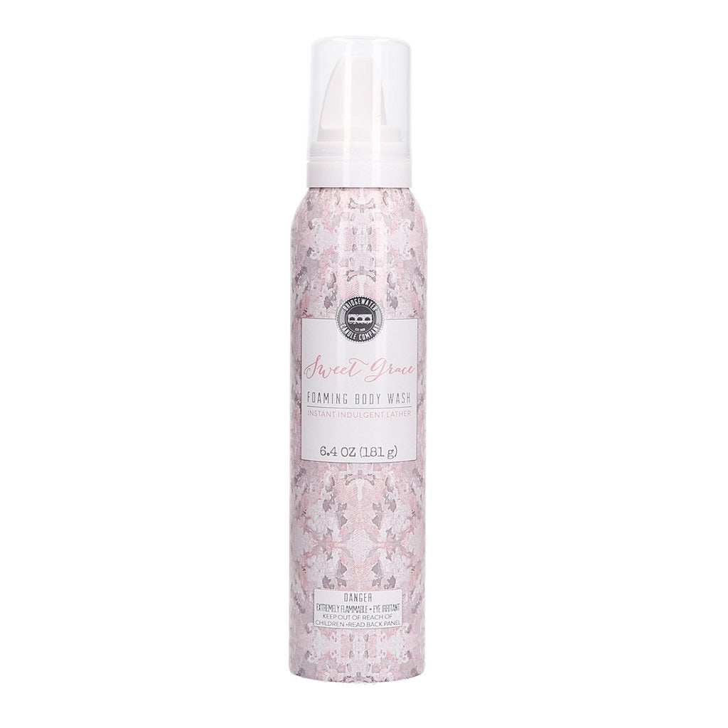 SWEET GRACE- FOAMING BODY WASH-Body wash-Bridgewater-body wash, sweet Grace, sweet Grace body wash-The Twisted Chandelier