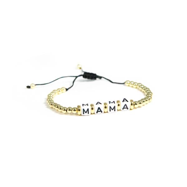 Mama Beaded Bracelet-The Twisted Chandelier--The Twisted Chandelier