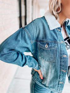 Maddi Denim Jacket-The Twisted Chandelier--The Twisted Chandelier