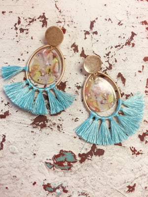 Alice Tassel Earrings