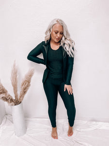 PEYTON (3 PIECE SET) ACTIVEWEAR - BLACK-Active Wear-2NE1 APPAREL-3 piece set, leggings, march2021, tiktok leggings-The Twisted Chandelier