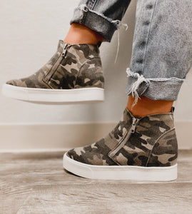 Taylor Camo Sneaker-The Twisted Chandelier--The Twisted Chandelier