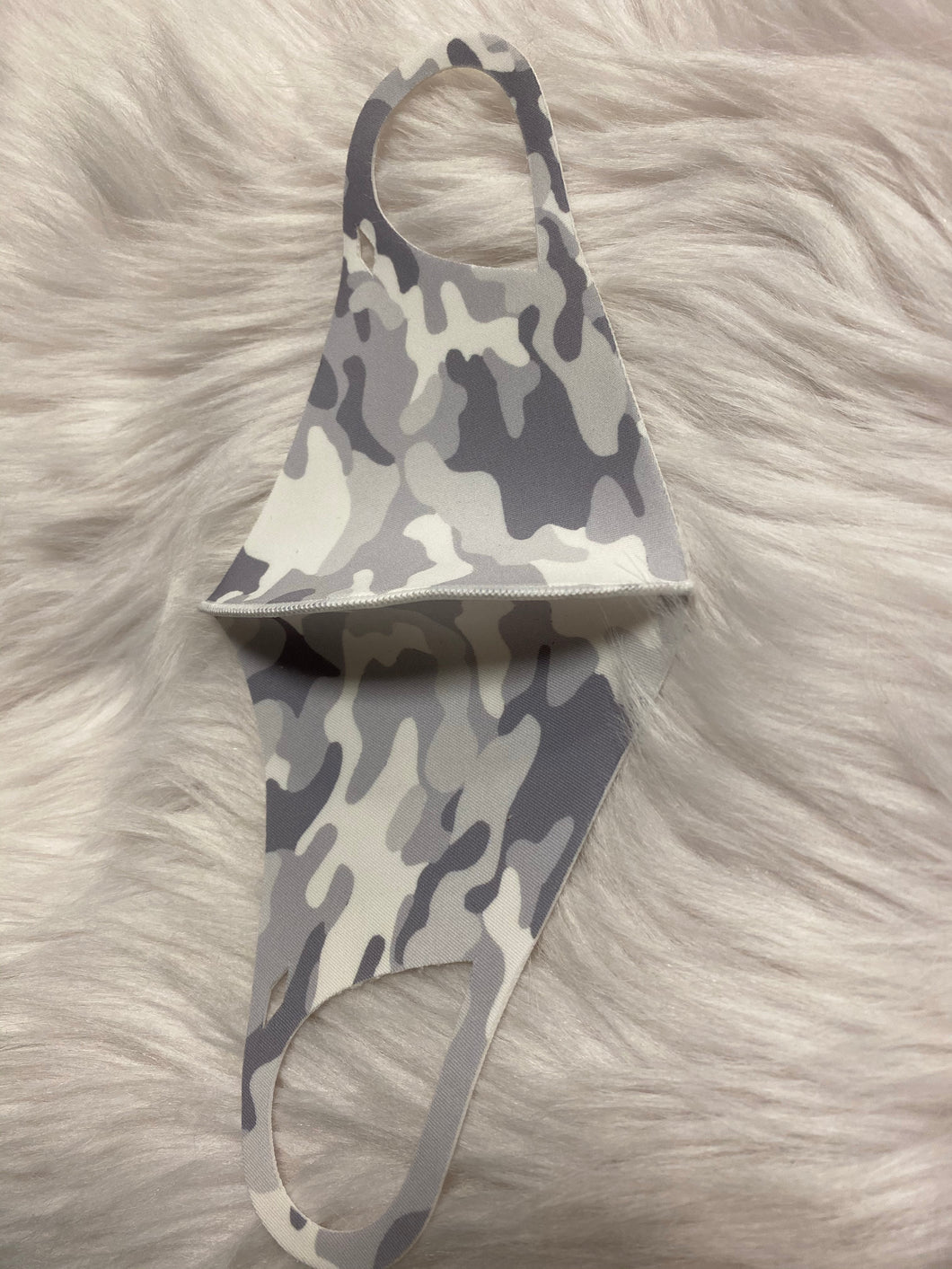 grey camouflage: anti-bacterial mask-The Twisted Chandelier--The Twisted Chandelier