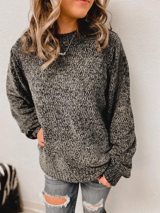 Carley Cashmere Knitted Sweater (ash grey)-Tunic-Zenana-nova turtle neck, november2020, tunic-The Twisted Chandelier