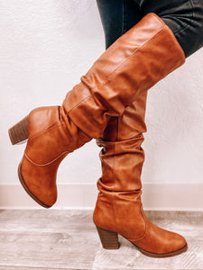 Layla (Rust) Boots-Boots-Qupid-Boots, fall boots, November2020, winter boots-The Twisted Chandelier