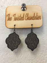 Load image into Gallery viewer, Glitter Kite Earrings -e270-The Twisted Chandelier--The Twisted Chandelier
