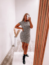 Load image into Gallery viewer, Jessie Leopard Dress-Dress-LA MEL-January2021-The Twisted Chandelier