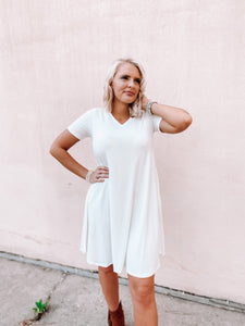 Maddi T-Shirt Dress-The Twisted Chandelier--The Twisted Chandelier