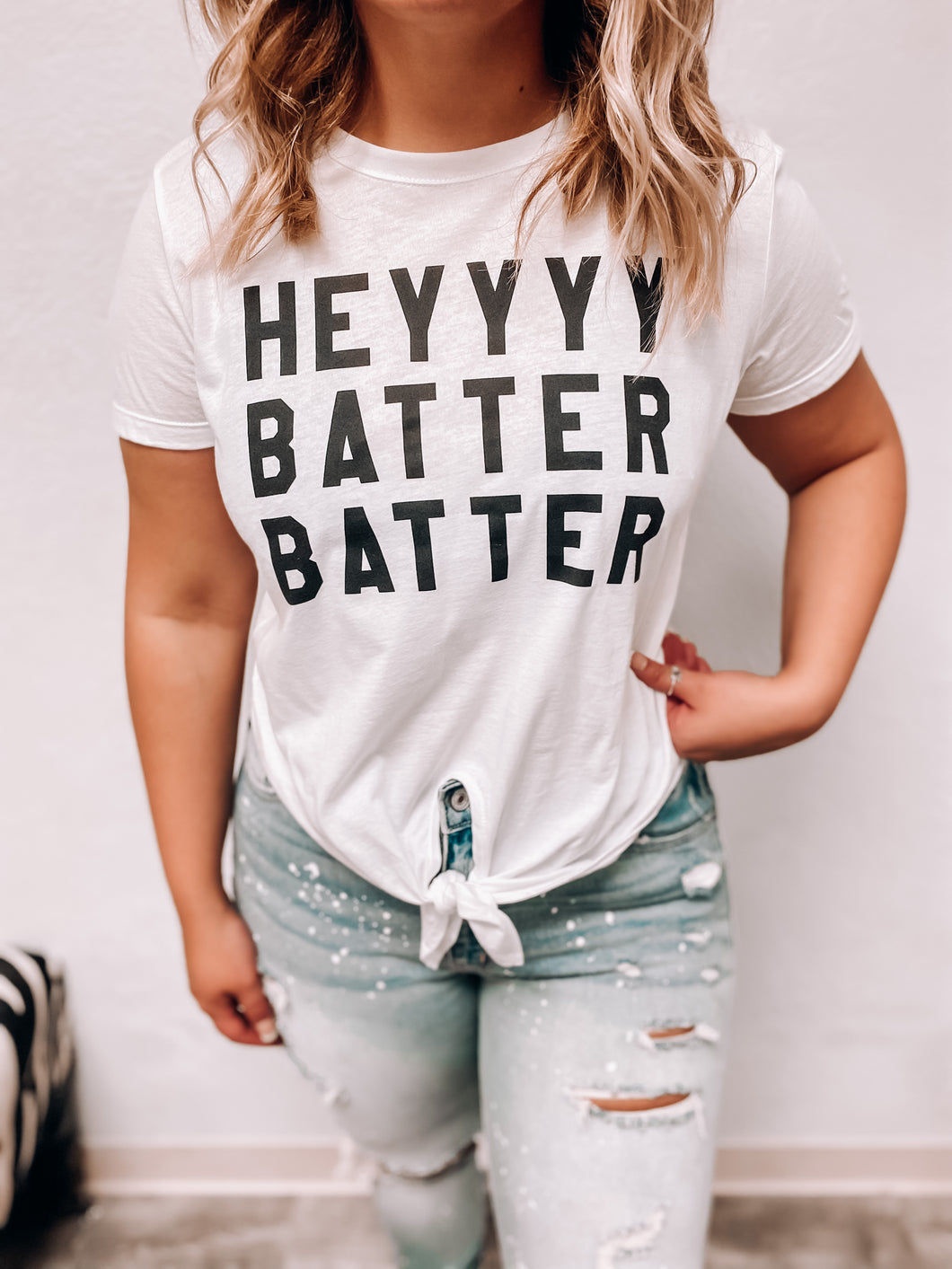 Hey Batter Batter Tee-The Twisted Chandelier--The Twisted Chandelier