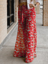 Load image into Gallery viewer, Layla {Red Floral} Bottoms-The Twisted Chandelier--The Twisted Chandelier