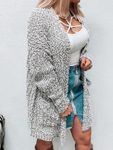 Load image into Gallery viewer, NEW Popcorn Cardigan (Heather Grey)-Sweaterland-november2020-The Twisted Chandelier