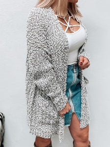 NEW Popcorn Cardigan (Heather Grey)-Sweaterland-november2020-The Twisted Chandelier