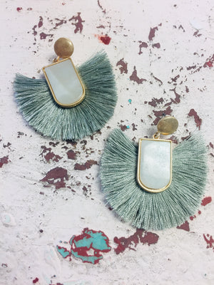 Addison Tassel Earrings