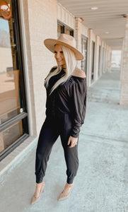 Comfy & Cozy Luxury Jumpsuit-The Twisted Chandelier--The Twisted Chandelier