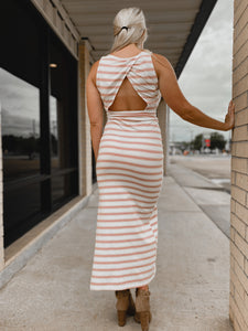 Lauren Striped Dress-The Twisted Chandelier--The Twisted Chandelier