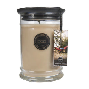 18OZ LARGE JAR CANDLE- AFTERNOON RETREAT-Bridgewater-Bridgewater--The Twisted Chandelier