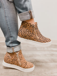 Taylor Leopard Sneakers-The Twisted Chandelier--The Twisted Chandelier