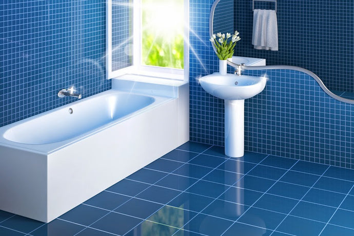 DON'T JUST MAKE IT CLEAN, MAKE IT EASIER (TIPS FOR CLEANING BATHROOM FLOORS)