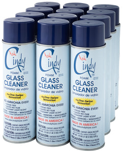 Ask Cindy Glass Cleaner w/ Foaming Magic-12 Can Discount!
