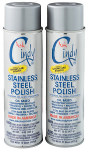 Ask Cindy Stainless Steel Polish (2 Cans)