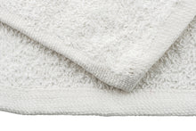 Load image into Gallery viewer, Ask Cindy's White Terry Cloth Towels - 100% Cotton (25 Pack)