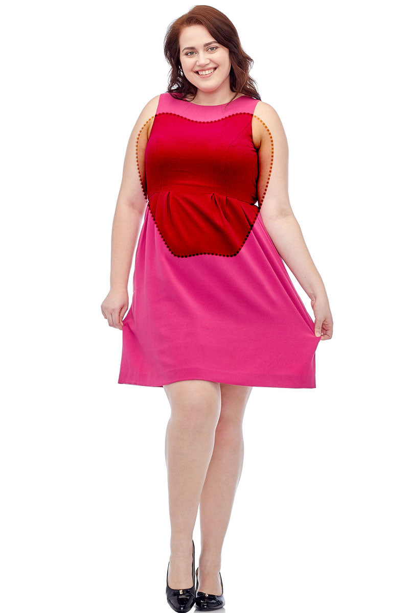Dress Tips, Apple Body Shape