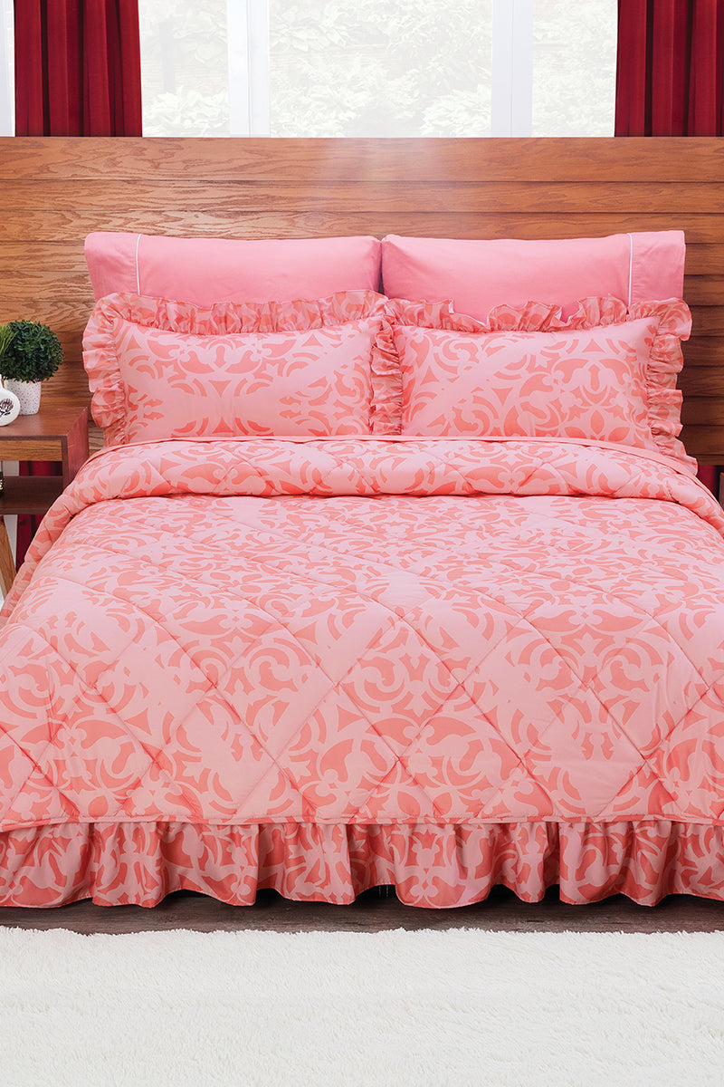 Bed lining in Pink