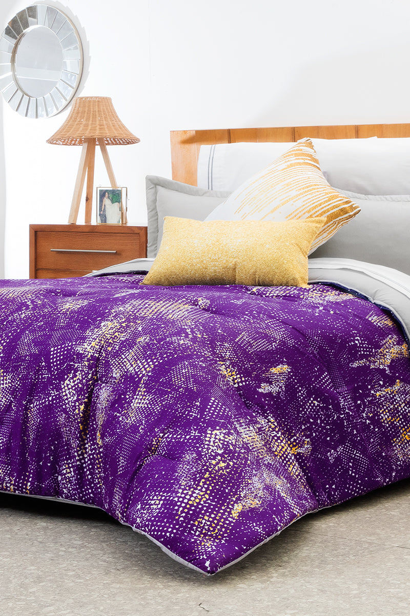 Bed lining in Purple