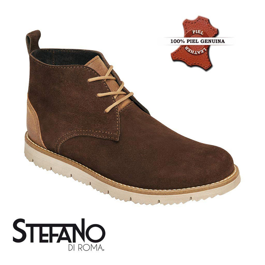 botas para hombres en color chocolate