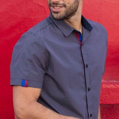 Camisa Vicent Azul