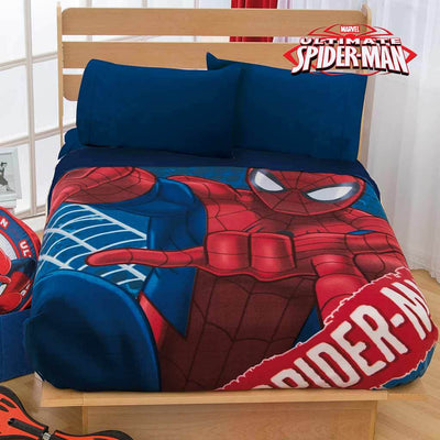 Cobertor Fleece Spiderman Heroe