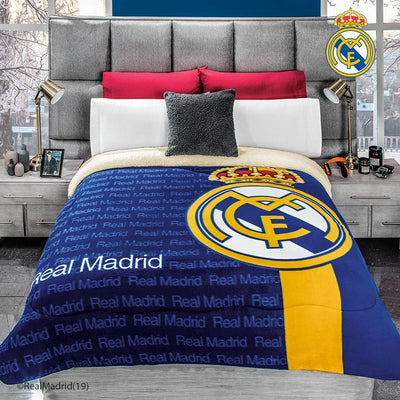 Cobertor Real Madrid borrega