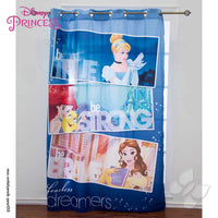 Imagen de Disney Princesas Dream Cortina de Recamara En Color Azul