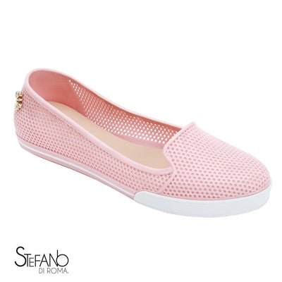 flats doble pack para dama en color rosa / azul