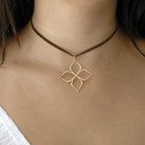 arabesque star pendant