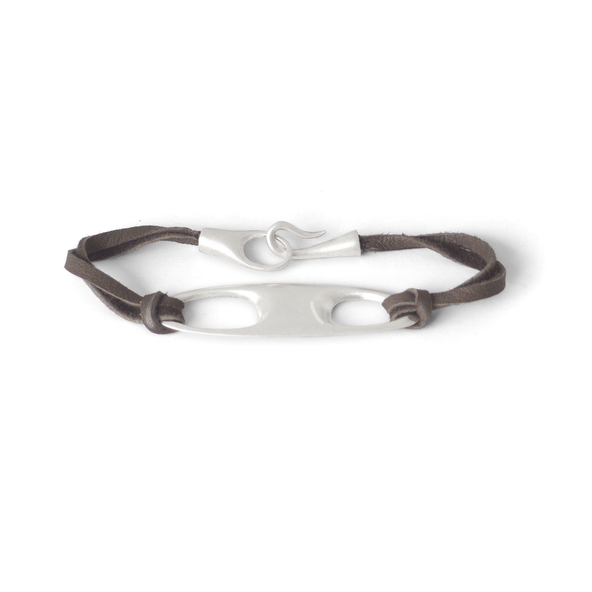 sterling silver double void id bracelet